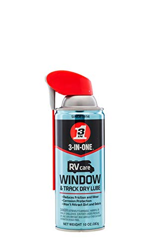 3-IN-ONE RVcare Window & Track Dry Lube with SMART...