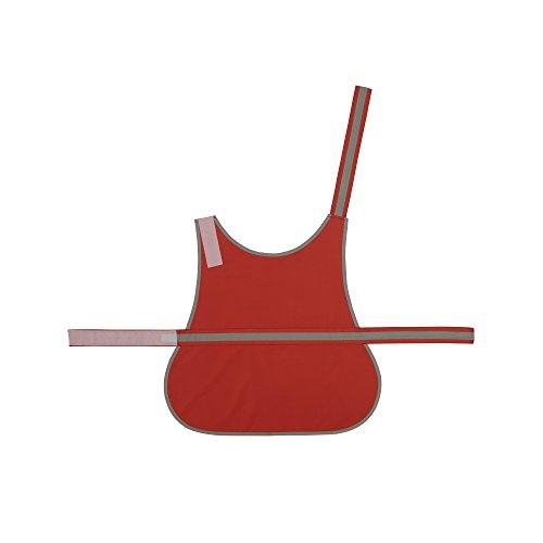 Yoko - Gilet haute visibilité pour chien (S) (Rouge)