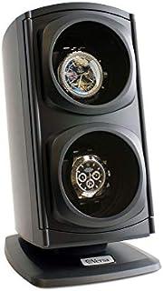[Nueva actualización] Versa, reloj de cuerda doble automática, negro