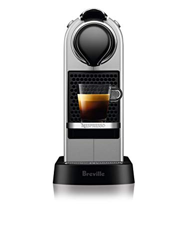 Breville-Nespresso USA BEC630SIL1BUC1 Nespresso CitiZ by Breville-Silver Single serve, capsule espresso maker, One Size