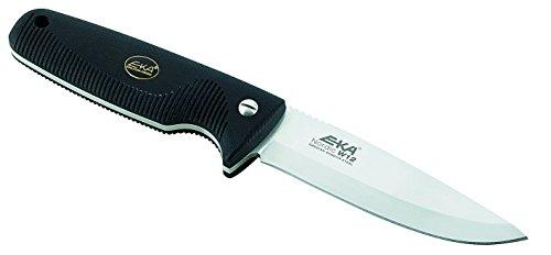 EKA Nordic W12 Fixed Blade Hunting Knife Black Handles