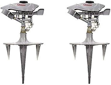 Gilmour Metal Spike Base Impulse Sprinkler 8500 sq. ft.