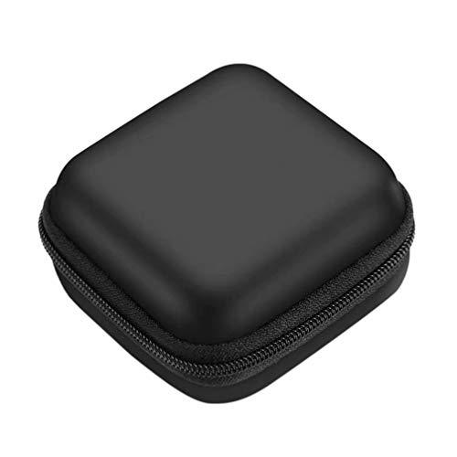 EXCEART 4Pcs Oxímetro de Pulso Caso de La Yema Del Dedo Duro Eva Sangre Monitor de Saturación de Oxígeno Bolsa de Almacenamiento Bolsa de Transporte de Viaje Bolsa de Protección Oxímetro