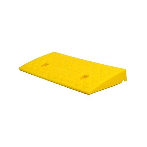CJXing-Slope pad 5CM / 7cm Innen Rampen, Kindergarten Klassenzimmer Schwelle Rampen Pflegeheim Krankenhaus Rollstuhl-Rampen Schwarz/Grün/Gelb (Color : Yellow, Size : 49 * 27 * 7CM)