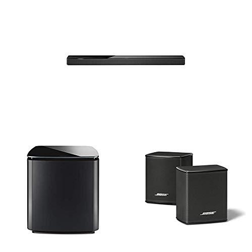 Bose - Soundbar700, schwarz + Lautsprecher Bass Module 700 + Surround Speakers, schwarz, mit Alexa-Integration