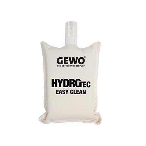 GEWO HydroTec Easy Clean/ 2 in 1 Funktion Praktisches Reinigungshilfsmittel für Tischtennis-Beläge Reinigungsset, Weiß, One Size