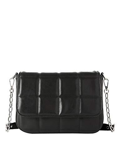 NA-KD Quilted Shoulder Bag Women's 26Cm Black