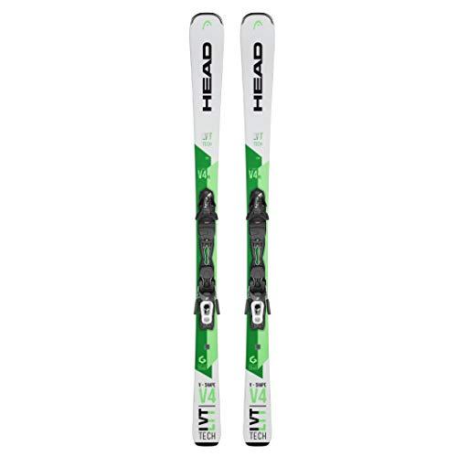 HEAD - Pack Ski V-Shape V4 XL R LYT-pr + Fixations Pr 10 Gw Promo - Homme - Taille 163 - Blanc