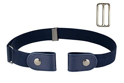 maikun No Buckle Belt Damen Invisible Elastic Belt für Herren Damen Jeans Hosen Kleider Uniformen