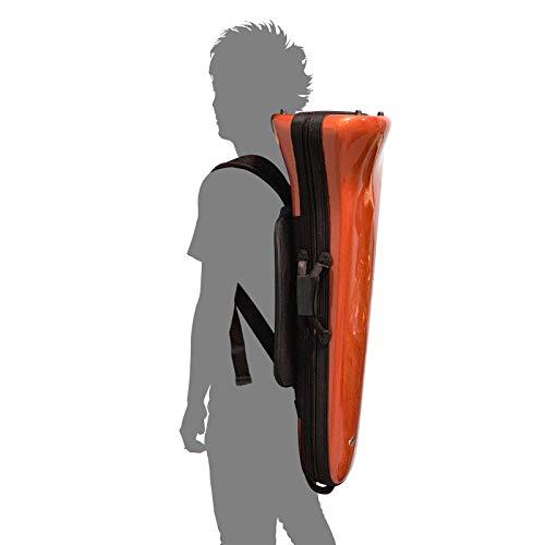 BAGSテナー・テナーバストロンボーン用ファイバーケース8インチベルまで収納可能EFTT/24RED
