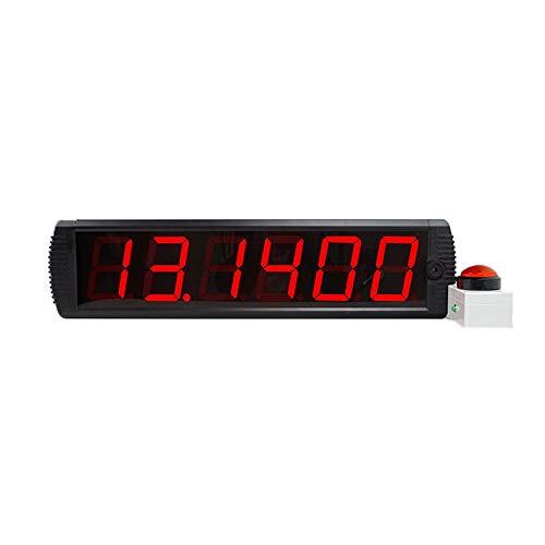 Countdown-Uhr Digitaler Multifunktions-Countdown Riesige und sichtbare Countdown-Uhr Home Gym Count Stoppuhr An der Wand montierte Echtzeituhr mit Fernbedienung Geeignet für Fitness-Studio Fitness