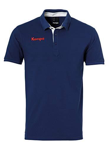 Kempa Erwachsene Prime EBBE und Flut Freizeit Polo Shirt, Ocean blau, S