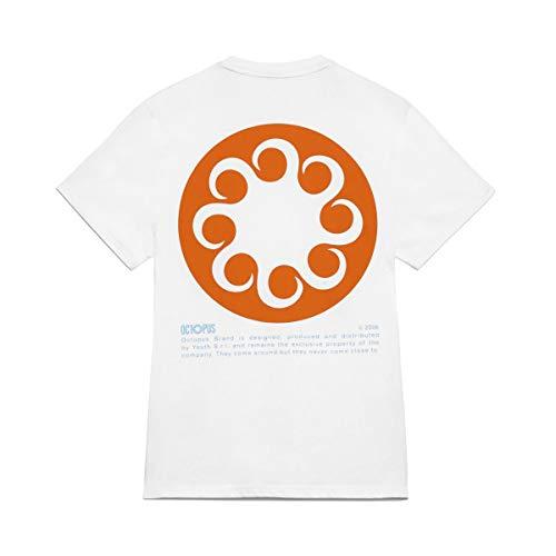 Octopus - T Shirt Logo Tee White - XS