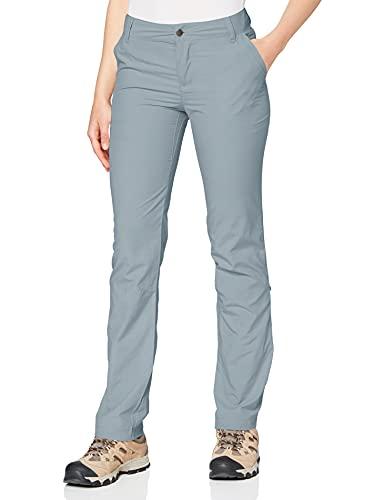 Columbia Silver Ridge 2.0 Pantalón de Senderismo Nailon, Mujer, Gris (Tradewinds Grey), Talla US W10/R/ (EU W42/R)