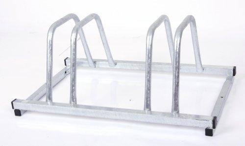 Fahrradständer für 2 Fahrräder 50x39 cm n-Form feuerverzinkt (Bike-Ständer für Fahrrad/Mountainbike)