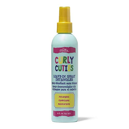 Desenredante Niños  marca Silk Elements Curly Cuties Leave In Spray Detangler