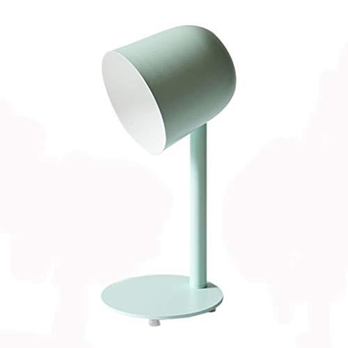 Lampe de table de personnalité créatrice, lampe de table de chevet couleur macaron (Couleur : Green)