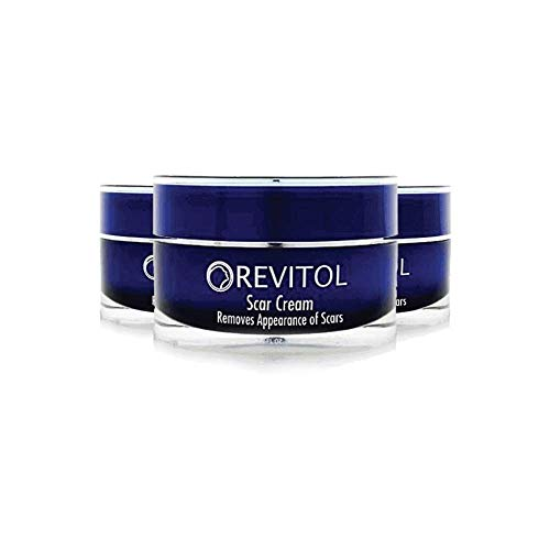Revitol Scar Removal Cream – Effective with All Skin Types and Scar Types...