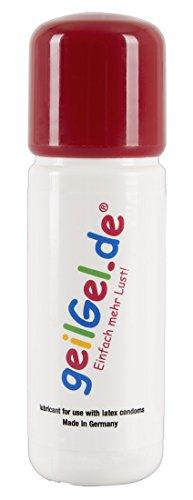 ORION Geilgel - Neutrales Gleitgel auf Wasserbasis, duftneutrales Gleitmittel für langanhaltende Gleitfreuden, für Oralverkehr geeignet (30 ml)