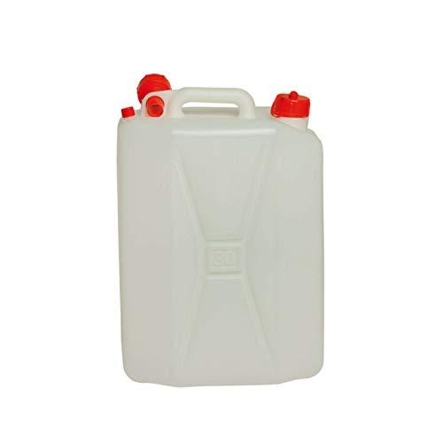 BuyStar Tanica per Alimenti in Polietilene Ideale per Trasporto o Stoccaggio di Liquidi, Bibite, Acqua (plastica, 25 Litri)