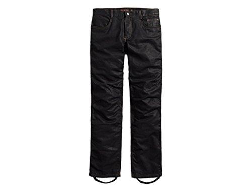 HARLEY-DAVIDSON Waxed Denim Performance Riding Jeans Hose, 98167-17EM, 32/34