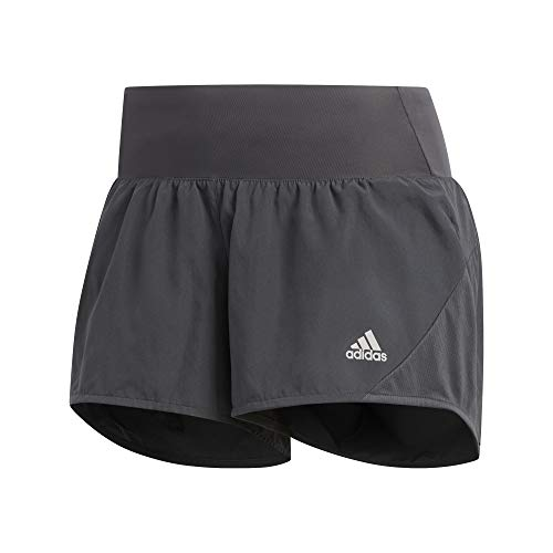 adidas Damen Run IT Short 3S Kurze Hosen, Grisei, M 3