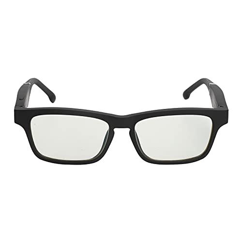Gafas Inteligentes Multifuncional Bluetooth Llamada Música USB 5.0 Volumen Claro para Marcación por Voz Y Contestación de Llamadas Oficina de Conducción 4H Manos Libres Ligeras Y Portátiles