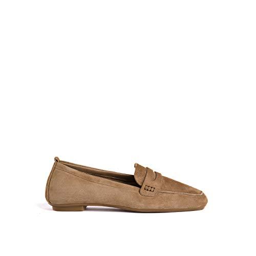 Reqins, chaussures femme, harmony Peau TT 07546-12B Naturel, 40