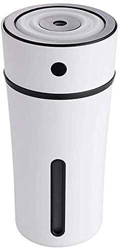WWKDM1 Humidificador de Aire, humidificador de Aire con Niebla fría, Filtro Libre, llenado Superior, opcionalmente con función de difusor de Aroma de luz Que Cambia de Color, Funciona con aceites