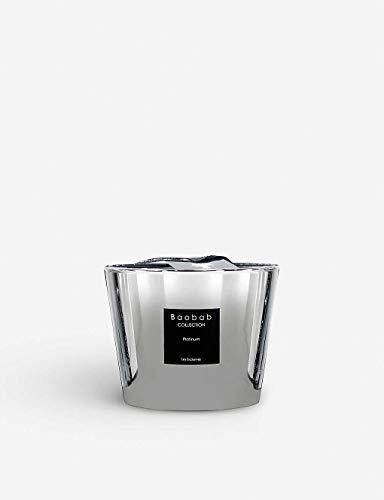 Baobab Max 10 Platinum Kerze, Kerzenwachs, 10cm, 10x7x10 cm