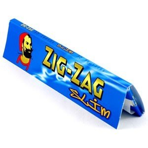 ZIG ZAG 320 Blu King Size Slim cartine 10 blocchetti da 32