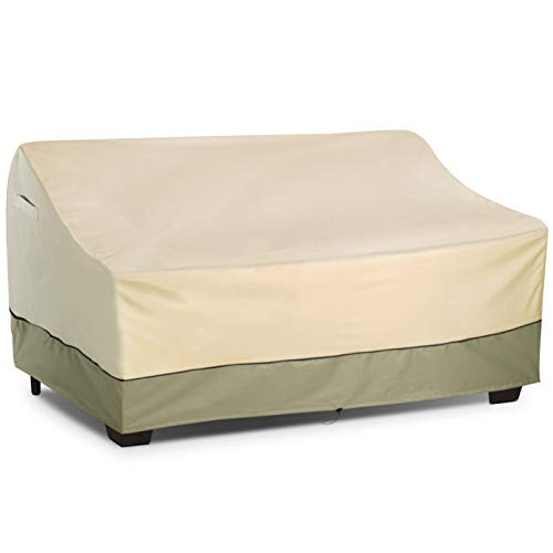 KylinLucky Outdoor Furniture Covers Waterproof, Patio Loveseat Cover Fits up to 70W x 38D x 35H inches