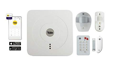 Kit Completo Alarma conectada Pack Vision + Yale accesible Desde Smartphone–Yale -