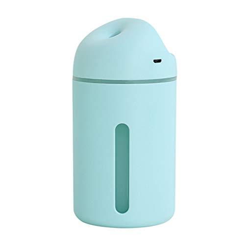 MagiDeal Humidificador de Aire de Niebla Fría Portátil USB 320ML para Agua de Viaje en Automóvil 320ML - Verde, Individual