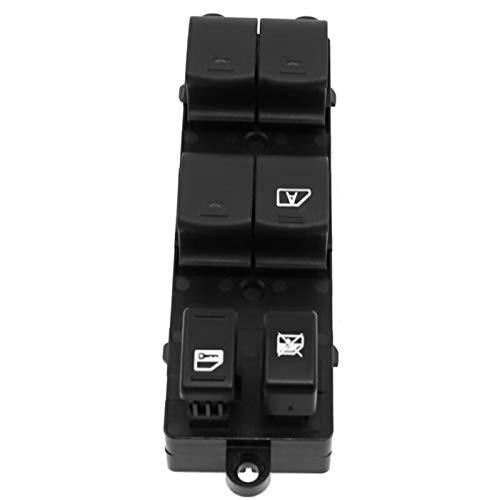 KUANGQIANWEI Botonera elevalunas 25401-ZP40B Frente a la Izquierda Interruptor de la Ventana Master Master Ajuste para Nissan Sentra 2008-2012 Fit for Pathfinder 2005-2008 25401-ZT50A