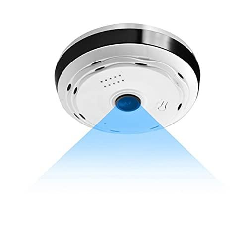 Macabolo 360 grados panorámica gran angular Mini cámara IP inalámbrica ojo de pez lente de seguridad hogar WiFi IP