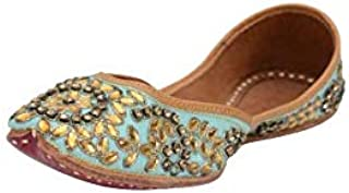 Rearstep Handicraft Ladies Leather Modern Footwear Turquoise