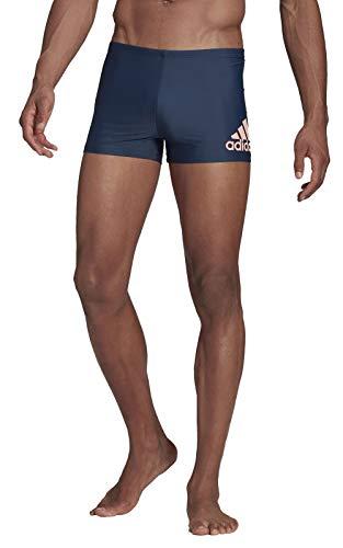 adidas Fit BX Bos Costume da Bagno da Uomo, Uomo, Costume da Bagno, GM3532, Azmatr/Rosbri, S