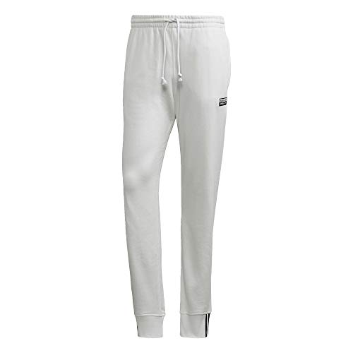 adidas Originals - Pantalones de chándal para hombre - Blanco - Small