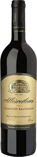 Allesverloren Wine Estate Cabernet Sauvignon Wine of Origin Swartland 2016 (1 x 0.75 l)