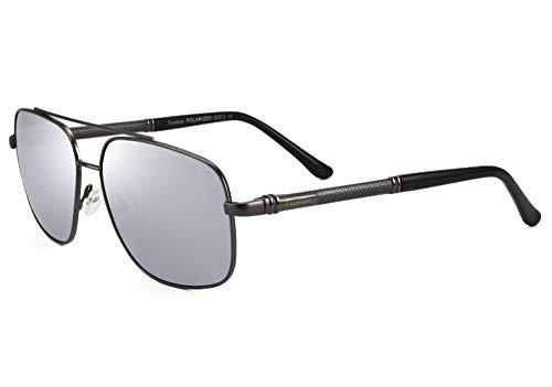 FUMKEN Gafas de sol polarizadas para hombre, gafas de conducción deportivas, protección UV400, Cat 3 CE