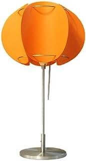 marumitsu パンプキン テーブルスタンド 全24色(白熱灯タイプ)クロームオレンジ
