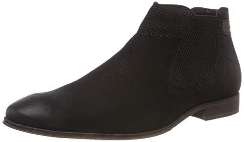 bugatti Herren 311101303500 Klassische Stiefel Kurzschaft Stiefel , Schwarz , 43 EU