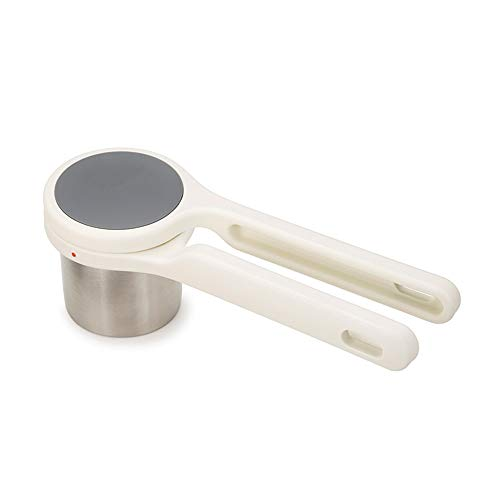Roestvrijstalen Plantaardige Pureer Stamper, aardappel Fruit Stamper, kan worden gebruikt als plantaardige rijst freesmachine, Broccoli Rijst Babyvoeding Stamper Puree puree