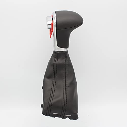 THEsame Handball-schalthebel Mit Automatischer Schaltung Handball-integrierte Gangschaltung Für Audi A3 A4 A5 A6 C6 Q5 Q7 Schwarze und schwarze Linie
