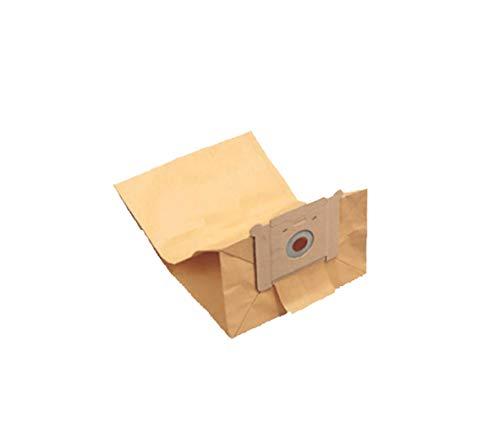 Bolsas de papel de 7 litros para aspiradora Ghibli mod. Power D 22 P/I - Paquete de 10 unidades