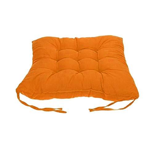 WEDFGX Almohada para Silla, cojín para Asiento de Suelo, cojín Grueso para Sentarse, Silla para el hogar de Color sólido, cojín Decorativo, sofá Tatami