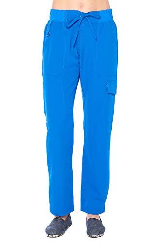 ANGEL UNIFORMS Olivia-5-Pocket Slim-Fit Stretch Scrub Pants with Elastic Waistband Medical