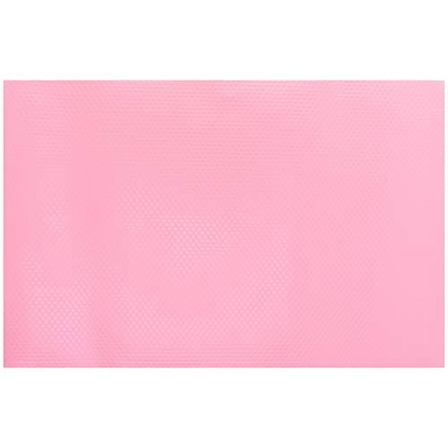 ACAMPTAR Paquete de 12 Alfombrillas para Refrigerador, Alfombrillas Lavables para Refrigerador, Repisas, Repisas, Alfombrillas para Cajones, 4 Rosa / 4 Verde / 4 Azul