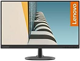 """Lenovo C24-25 - Monitor de 23.8"""" FullHD (1920x1080 pixeles, 16:9, 75Hz, 4ms, 1000:1, Puertos VGA + HDMI, 3 lados, sin..."""
